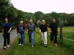 Nordic-Walking in der Gruppe