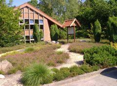 Heidegarten bei der Gemeindebücherei